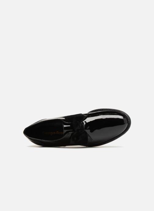 Chaussures à lacets Georgia Rose Covelvet Noir vue gauche