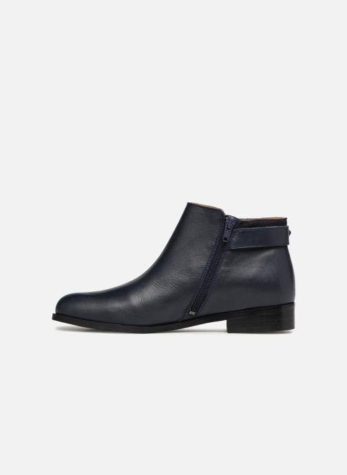 Bottines et boots Georgia Rose Corclou Bleu vue face