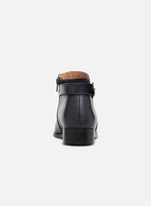 Bottines et boots Georgia Rose Corclou Bleu vue droite