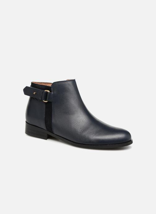 Bottines et boots Georgia Rose Corclou Bleu vue détail/paire