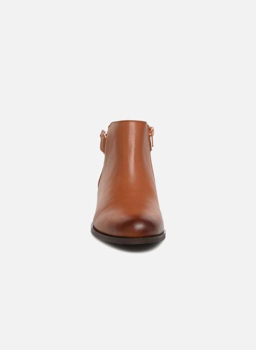 Bottines et boots Georgia Rose Corclou Marron vue portées chaussures