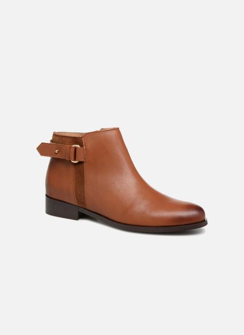 Bottines et boots Georgia Rose Corclou Marron vue détail/paire