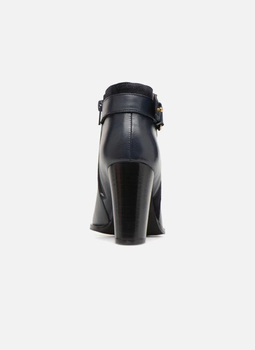 Bottines et boots Georgia Rose Coucla Bleu vue droite