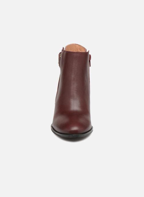Bottines et boots Georgia Rose Coucla Bordeaux vue portées chaussures