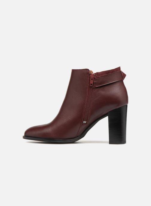 Bottines et boots Georgia Rose Coucla Bordeaux vue face