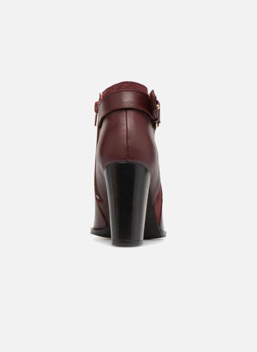 Bottines et boots Georgia Rose Coucla Bordeaux vue droite