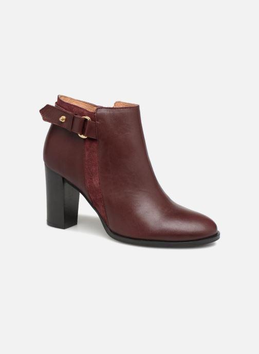 Bottines et boots Georgia Rose Coucla Bordeaux vue détail/paire