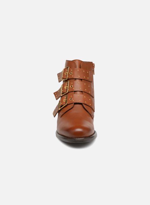 Bottines et boots Georgia Rose Clarissa Marron vue portées chaussures