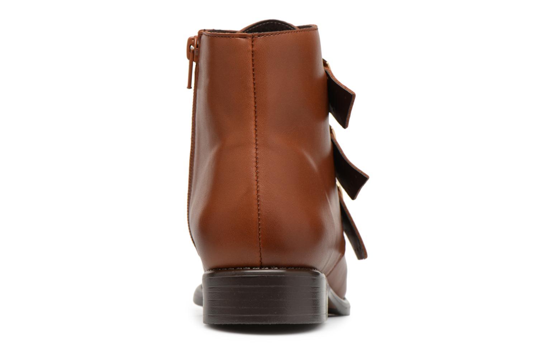 Bottines et boots Georgia Rose Clarissa Marron vue droite