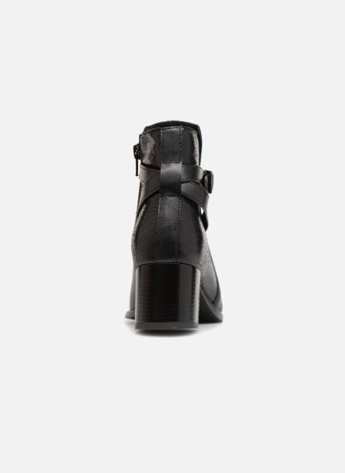 Bottines et boots Georgia Rose Cevipera Noir vue droite