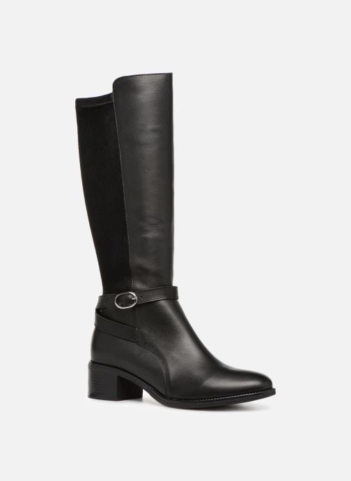 Boots & wellies Georgia Rose Cobelle Black detailed view/ Pair view