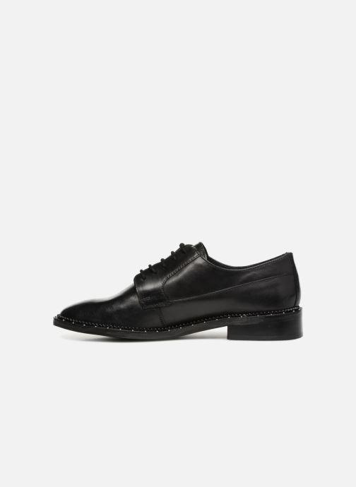 Zapatos con cordones Bronx BNOIRX 1 Negro vista de frente