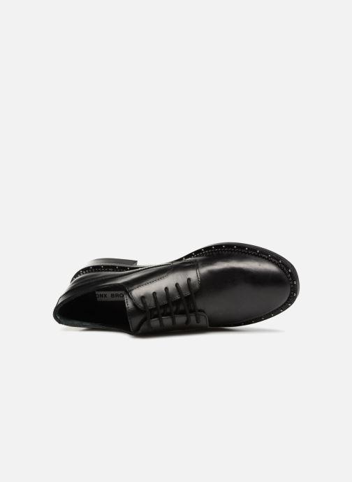 Zapatos con cordones Bronx BNOIRX 1 Negro vista lateral izquierda