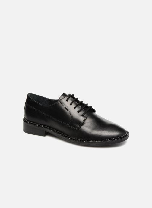 Chaussures à lacets Bronx BNOIRX 1 Noir vue détail/paire