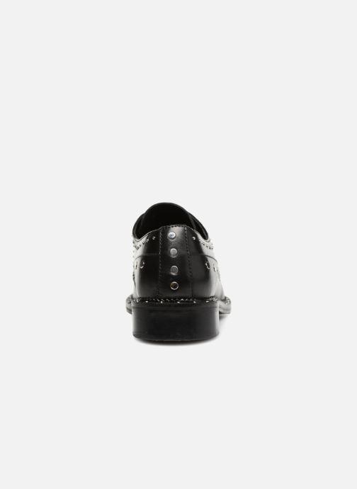 Zapatos con cordones Bronx BNOIRX 2 Negro vista lateral derecha
