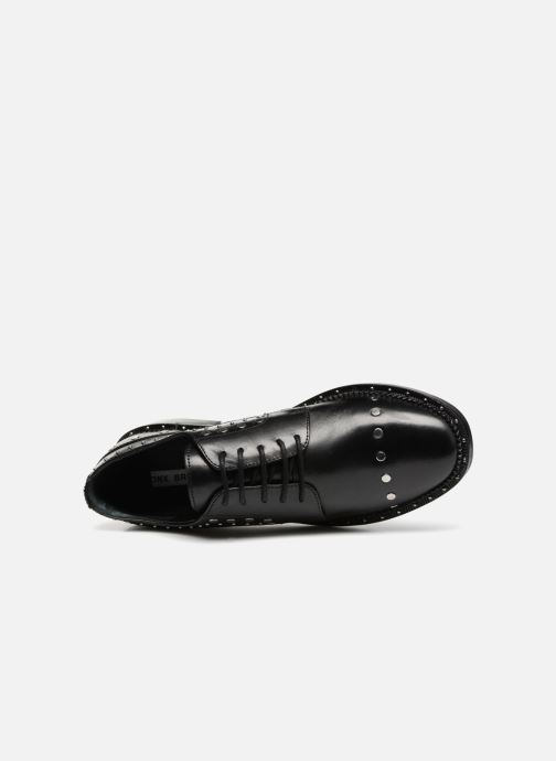 Lace-up shoes Bronx BNOIRX 2 Black view from the left