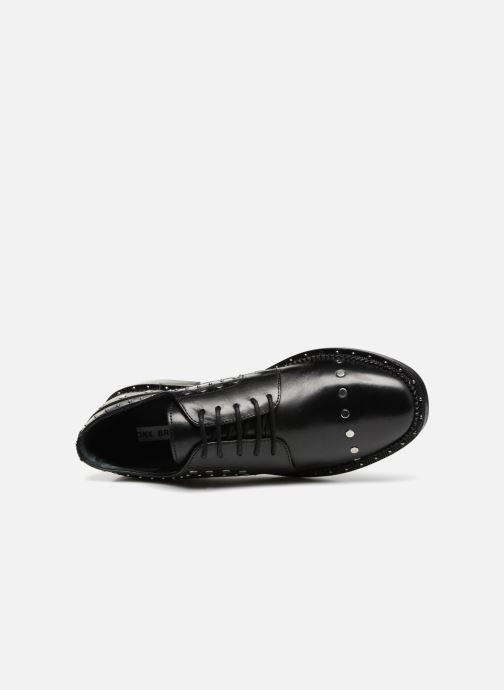 Zapatos con cordones Bronx BNOIRX 2 Negro vista lateral izquierda