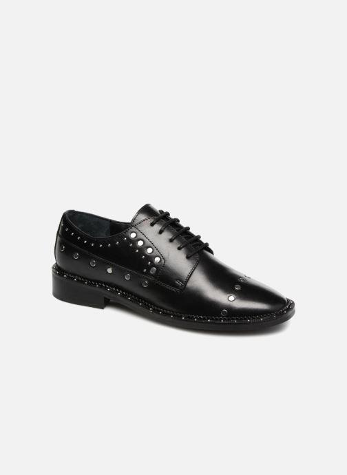 Zapatos con cordones Bronx BNOIRX 2 Negro vista de detalle / par