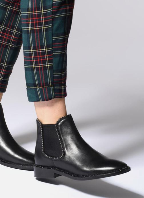 Ankle boots Bronx BNOIRX 3 Black view from underneath / model view