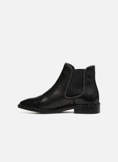 Ankle boots Bronx BNOIRX 3 Black front view