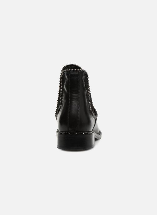 Ankle boots Bronx BNOIRX 3 Black view from the right