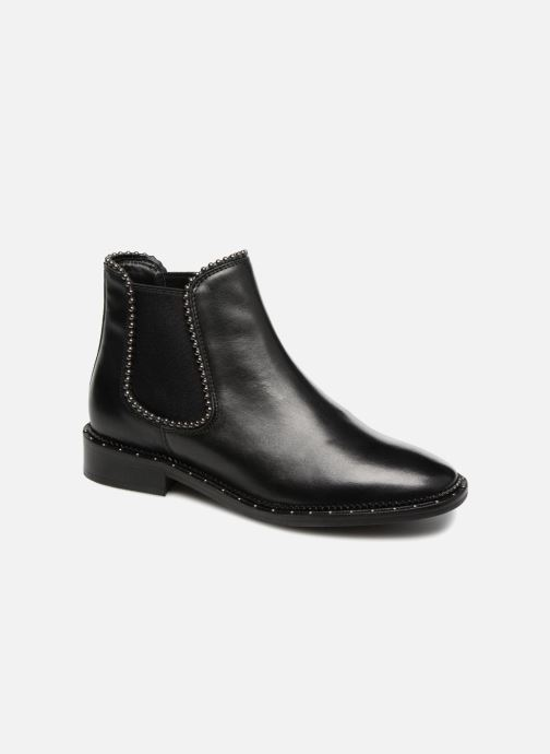 Ankle boots Bronx BNOIRX 3 Black detailed view/ Pair view