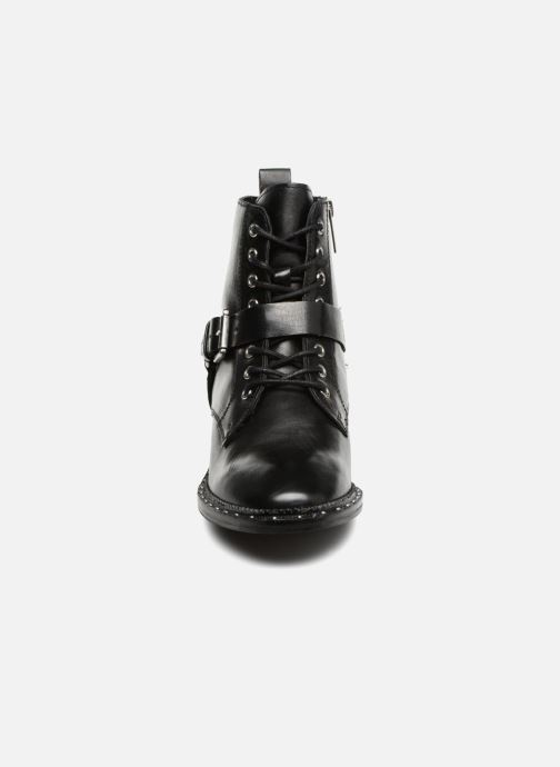 Ankle boots Bronx BNOIRX Black model view