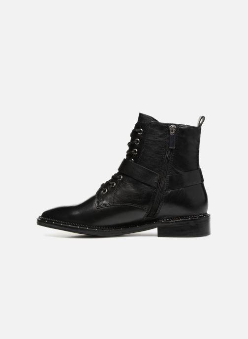Bottines et boots Bronx BNOIRX Noir vue face