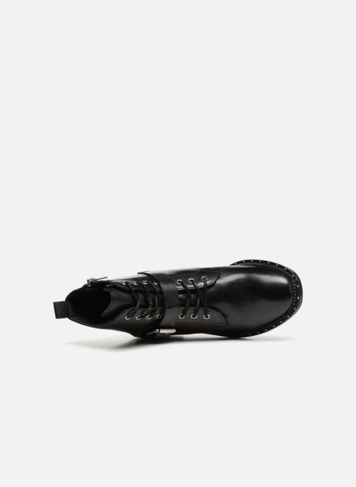 Ankle boots Bronx BNOIRX Black view from the left