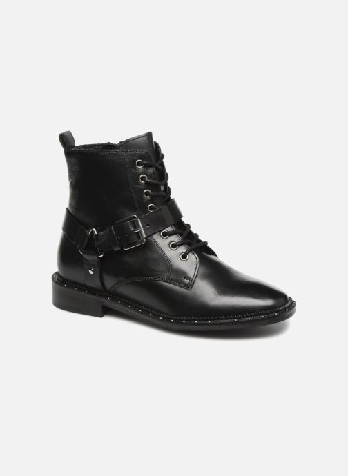 Ankle boots Bronx BNOIRX Black detailed view/ Pair view