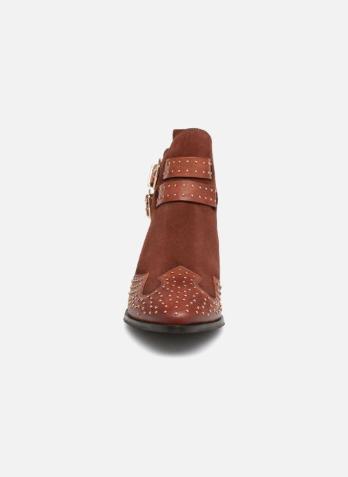 Ankle boots Bronx BTEX-CHUNKYX Orange model view