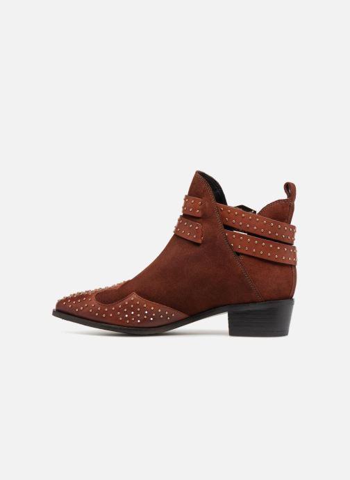 Bottines et boots Bronx BTEX-CHUNKYX Orange vue face