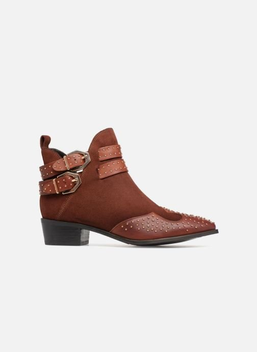 Ankle boots Bronx BTEX-CHUNKYX Orange back view