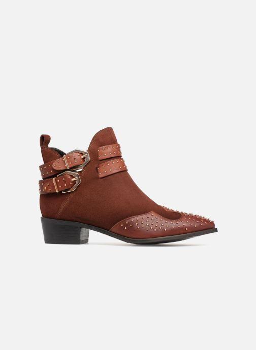 Boots en enkellaarsjes Bronx BTEX-CHUNKYX Oranje achterkant