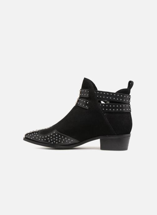 Bottines et boots Bronx BTEX-CHUNKYX Noir vue face