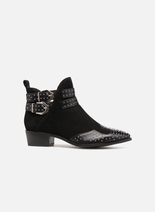 Bottines et boots Bronx BTEX-CHUNKYX Noir vue derrière