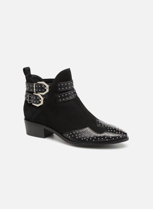 Ankle boots Bronx BTEX-CHUNKYX Black detailed view/ Pair view