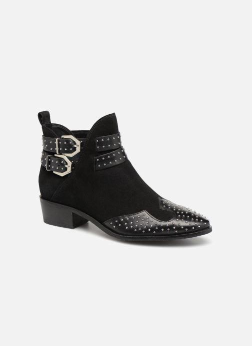 Bottines et boots Bronx BTEX-CHUNKYX Noir vue détail/paire