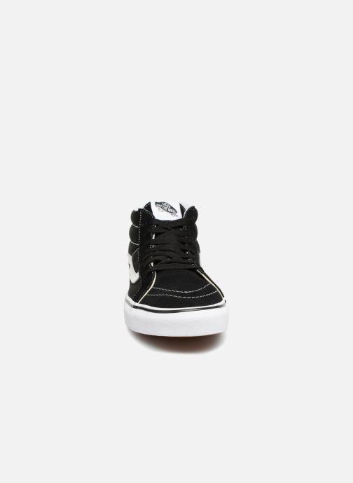 Sneaker Vans SK8 Mid Reissue M schwarz schuhe getragen