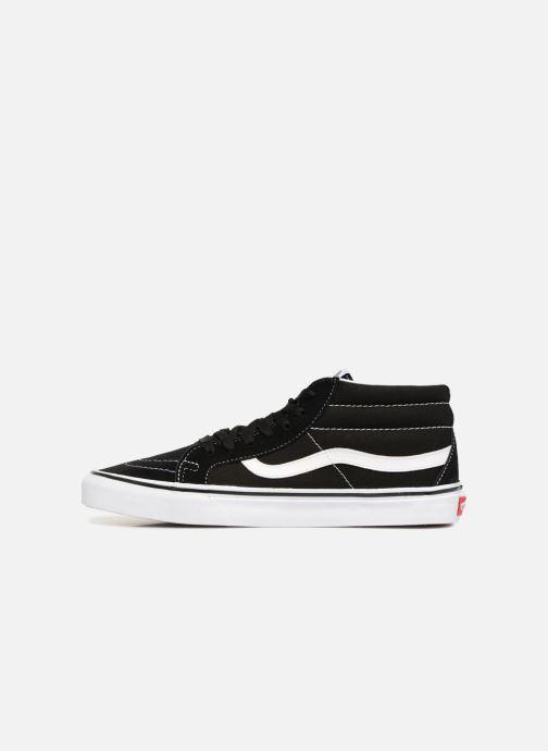Sneaker Vans SK8 Mid Reissue M schwarz ansicht von vorne