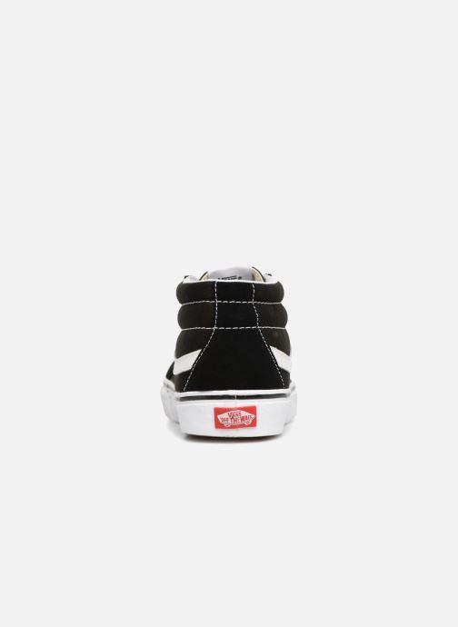 Sneaker Vans SK8 Mid Reissue M schwarz ansicht von rechts