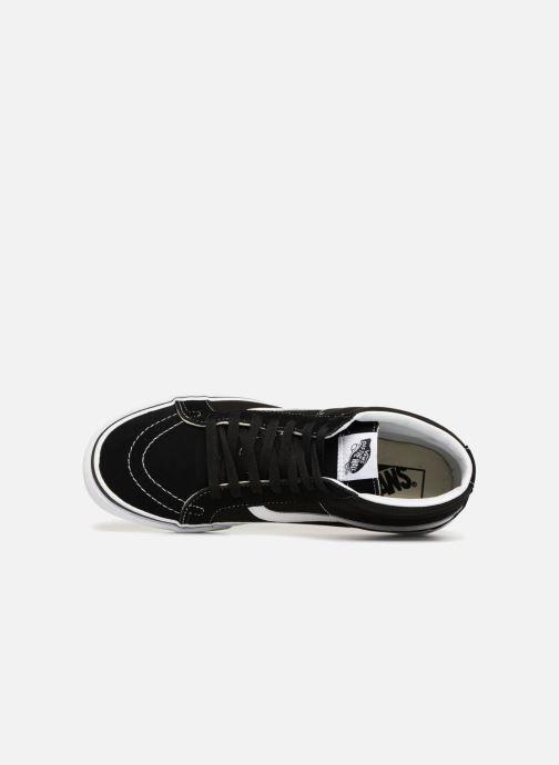 Baskets Vans SK8 Mid Reissue M Noir vue gauche