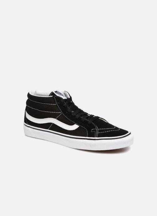 Sneaker Vans SK8 Mid Reissue M schwarz detaillierte ansicht/modell