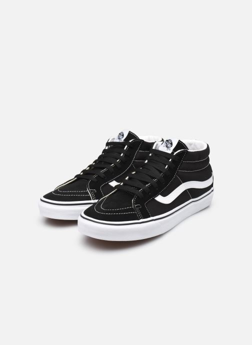 Trainers Vans SK8 Mid Reissue W Black view from underneath / model view