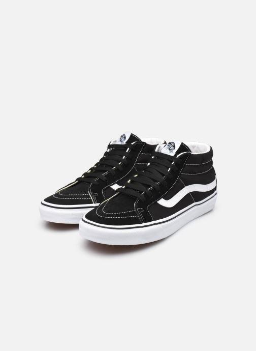 Sneakers Vans SK8 Mid Reissue W Nero immagine dal basso