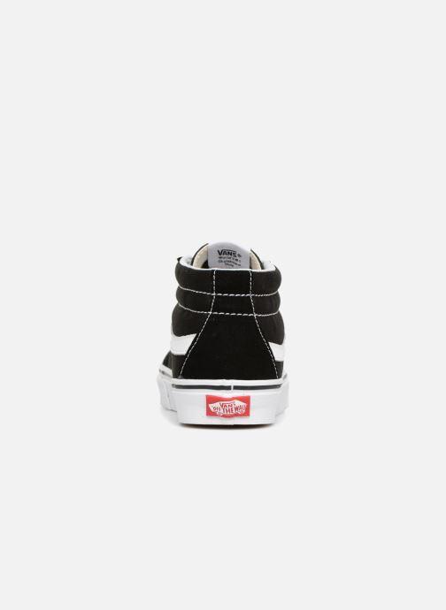 Baskets Vans SK8 Mid Reissue W Noir vue droite