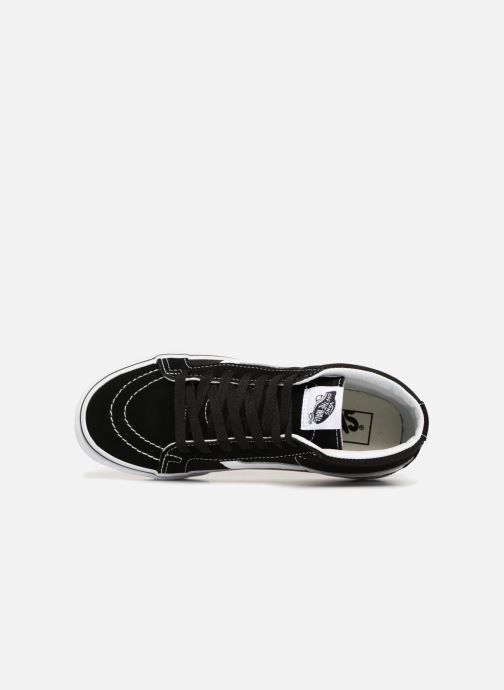 Trainers Vans SK8 Mid Reissue W Black view from the left
