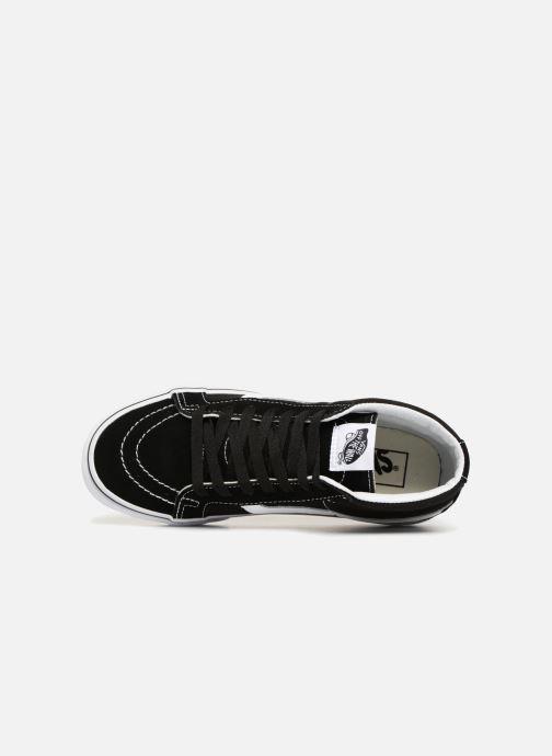 Baskets Vans SK8 Mid Reissue W Noir vue gauche