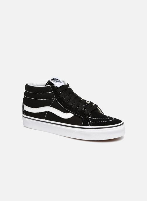 Trainers Vans SK8 Mid Reissue W Black detailed view/ Pair view