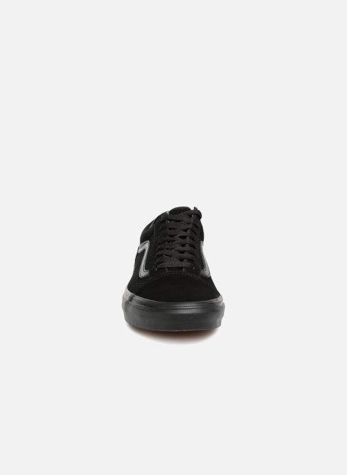Baskets Vans Old Skool M Noir vue portées chaussures